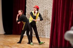 Cigale mise en scène au I festival des théâtres amateurs« Dveri» Bélarus