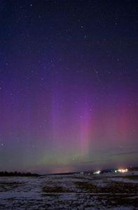 photos aurore boréale au bélarus