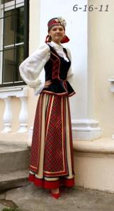 costume biélorusse de scène