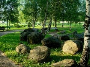 musée des rochers à Minsk