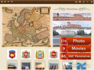 paysages biélorusses sur iPad
