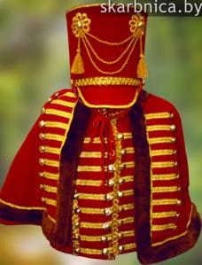 costume de hussard fabriqué sur mesure au bélarus