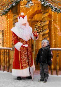 costume Pere Noel fabriqué sur mesure au bélarus
