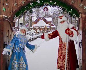costume Pere Noel fabriqué sur mesure au bélarus 5