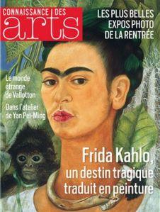 revue connaissance des arts Frida Kahlo à donner à Minsk