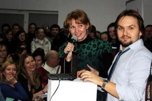 Hleb Labadzenka et Alesia Litvinouskaya