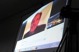 Stefan Eriksson sur skype