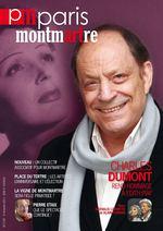 magazine Paris Montmartre Septembre 2013 à donner à Minsk