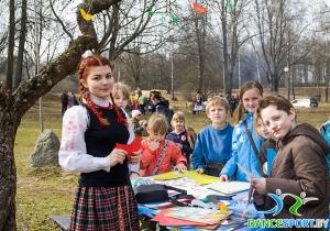 fête traditionnelle biélorusse appeler le printemps