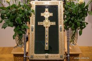10 siècles de l'art au Bélarus exposition Minsk croix