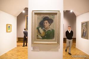 10 siècles de l'art au Bélarus exposition Minsk - Marc Chagall