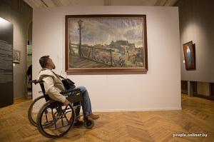 10 siècles de l'art au Bélarus exposition Minsk paysages