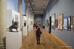 10 siècles de l'art au Bélarus exposition Minsk sculpture et peinture