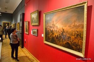 10 siècles de l'art au Bélarus exposition Minsk toiles