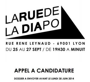 évènements photo et arts plastiques sur la diapositive Lyon