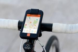 carte pour cycliste à Minsk sur appli