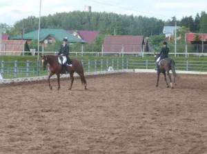 chevaux et sportifs francais au Belarus