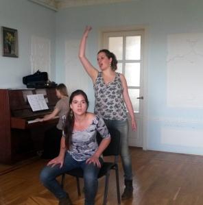 Louise Thomas et Mathilde Baeyens