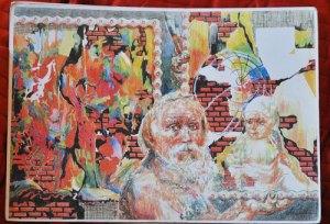 oeuvre de Valery Lyashkevich artiste biélorusse