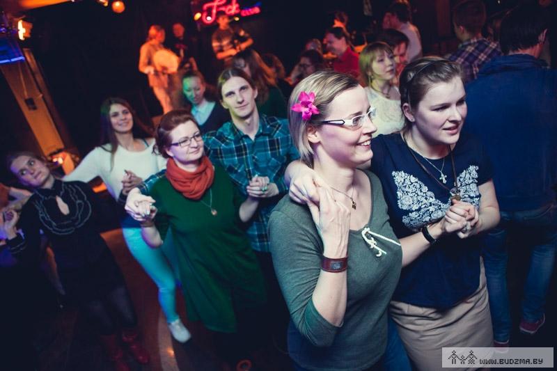 soirée de danses populaires à minsk bélarus