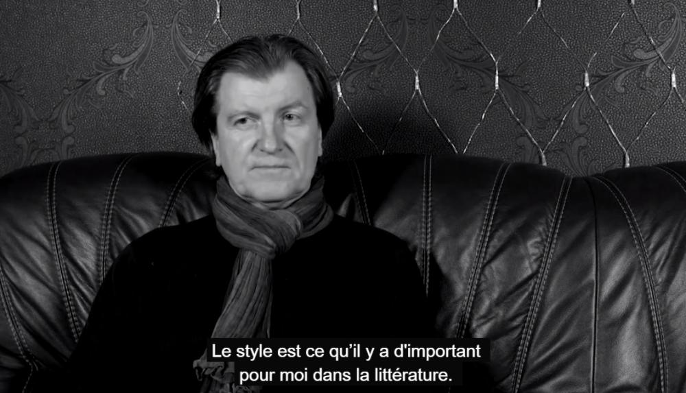 Zmicer Kolas dans le projet vidéo sur l'image de France en Biélorussie