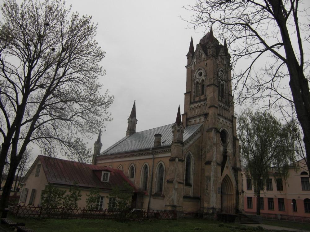 Eglise à Grodno Bélarus