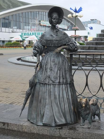 Minsk sculpture à Komarovsky rynok