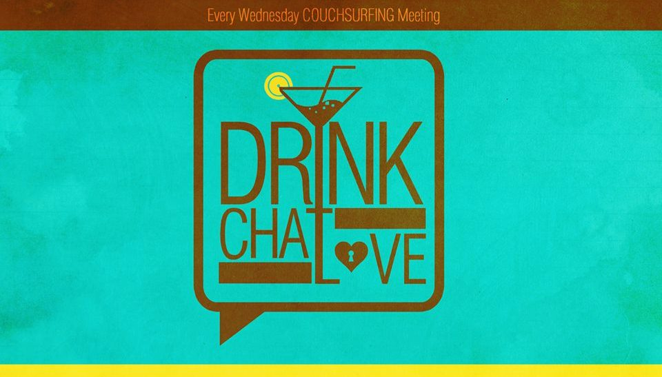 logo drink chat love couchsurfing meeting minsk