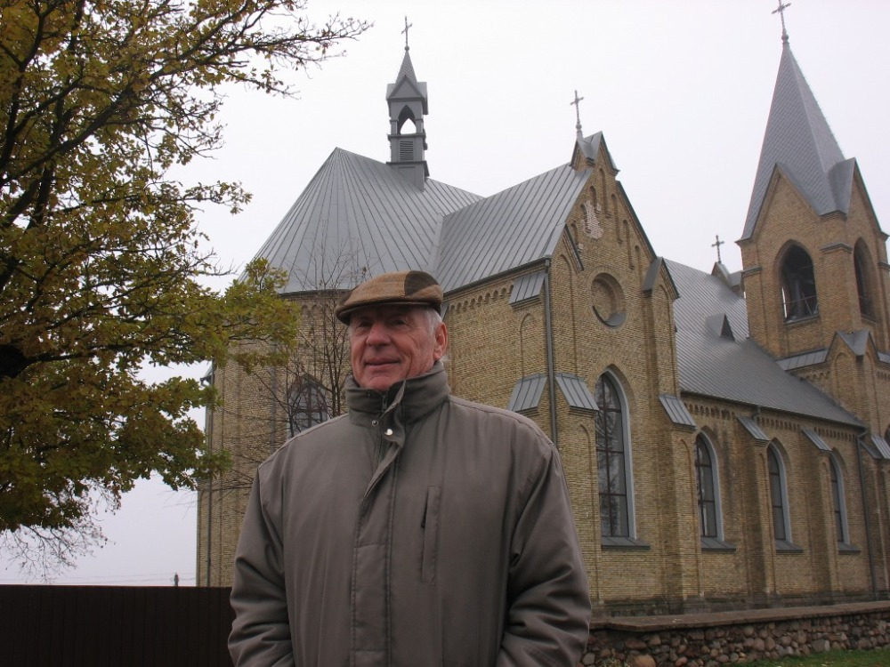 Michel Louyot au Bélarus à Rakaŭ