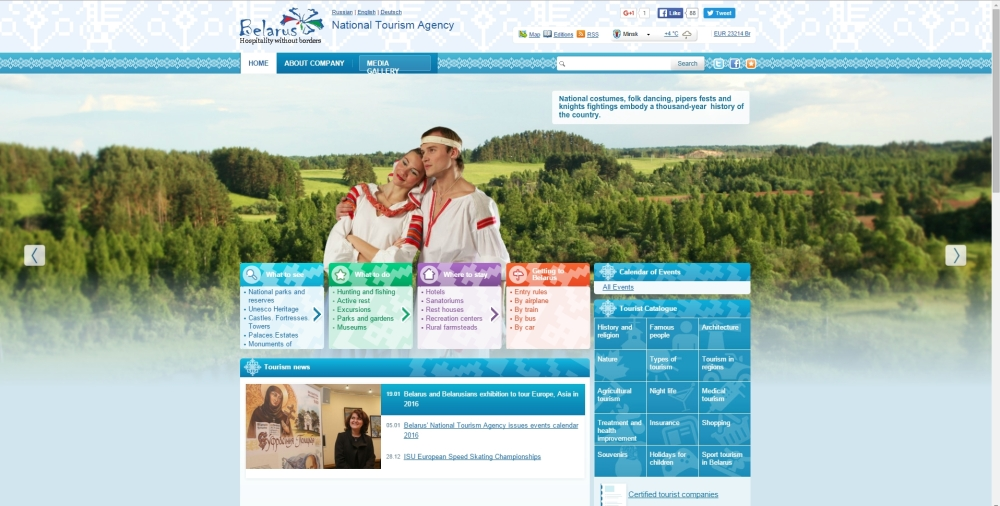 belarus tourisme