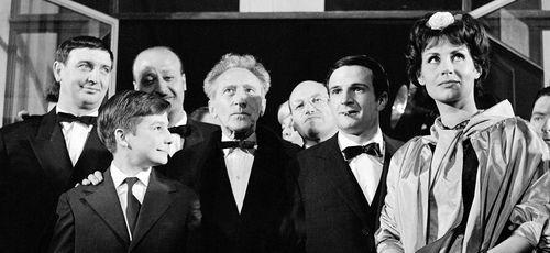 Festival de Cannes 1959 avec l'équipe de l'émission Reflets de Cannes