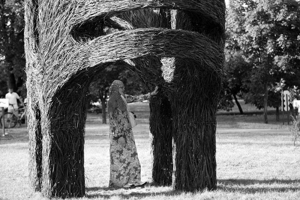 objet d'art géant biélorusse
