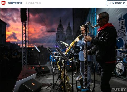 concert de soir haute ville minsk photo par tut by