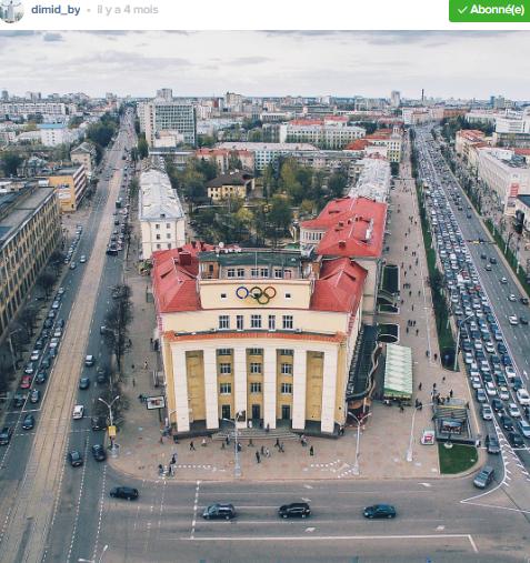 minsk soviétique vue du haut par dimid_by