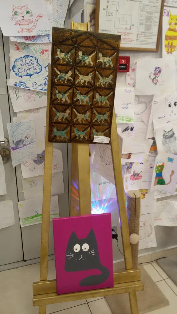musée du chat minsk oeuvres d'art
