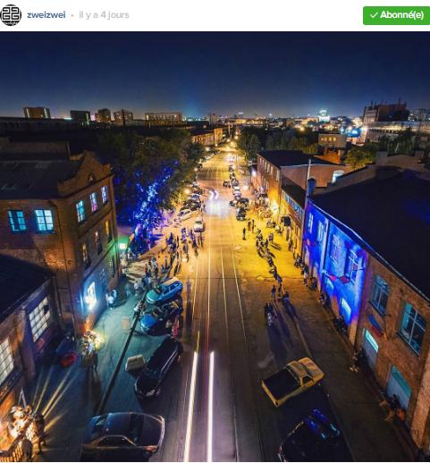 rue de bars le soir minsk photo par zweizwei