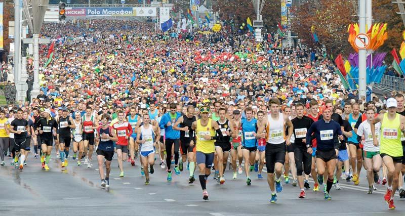 semi-marathon Minsk 2016