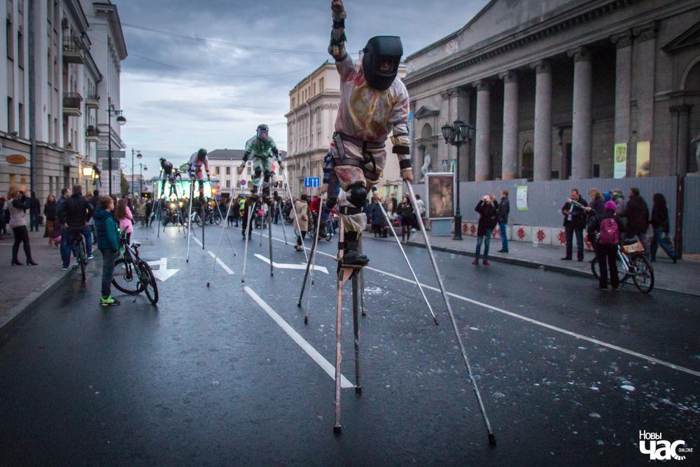 semaine de la mobilité européenne journée sans voiture 2016 à minsk bélarus
