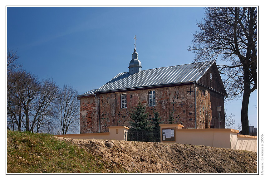 kalozha church belarus grodno