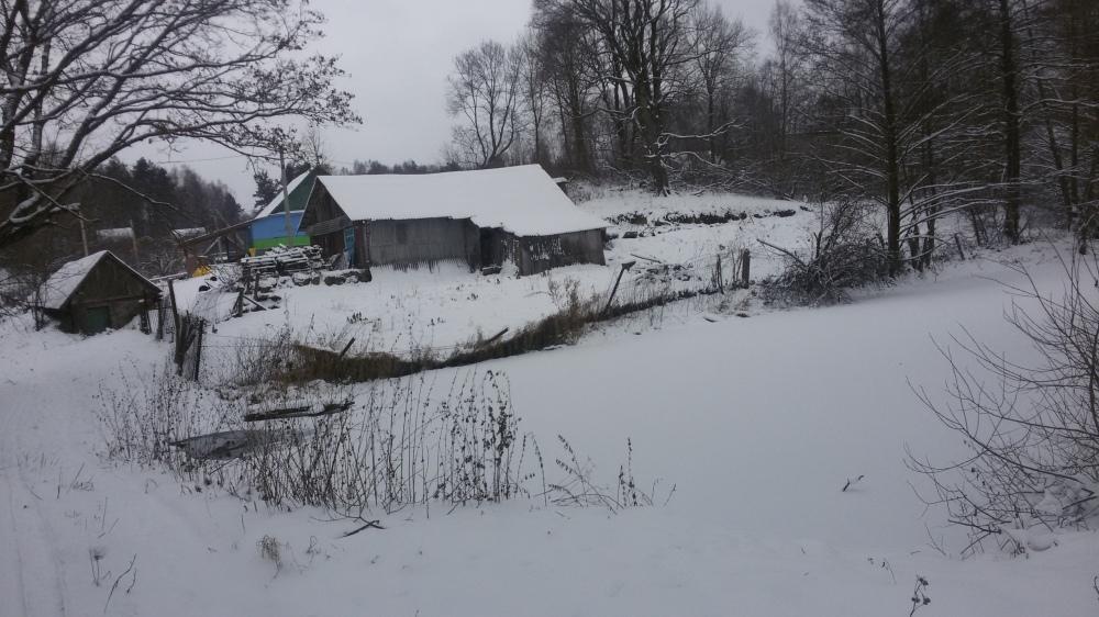 Paysages d'hiver biélorussie
