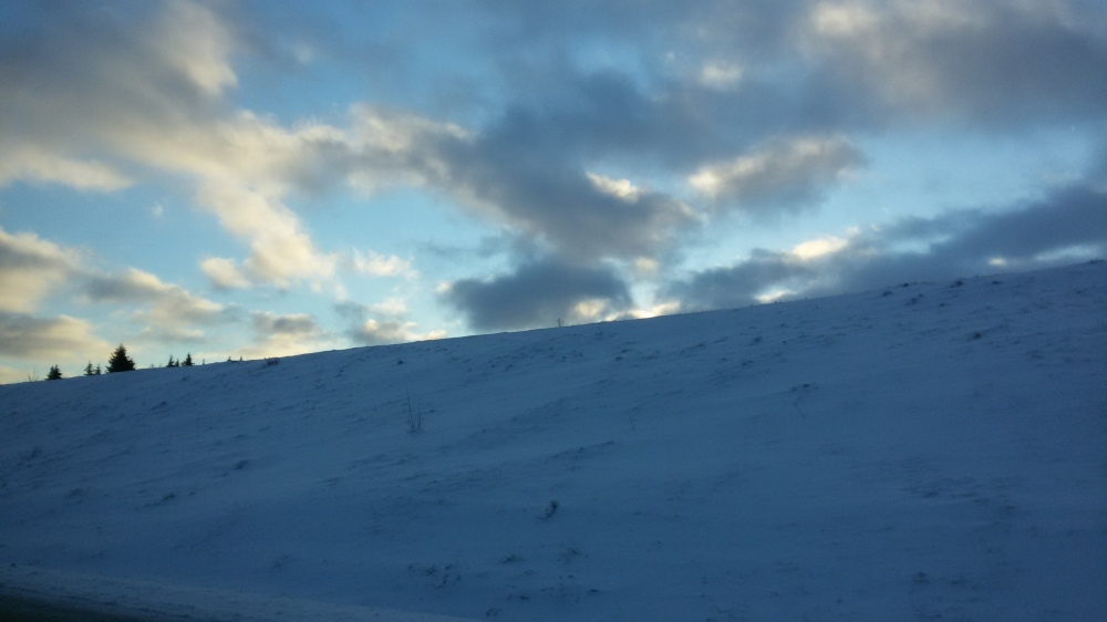 Neige hiver bélarus