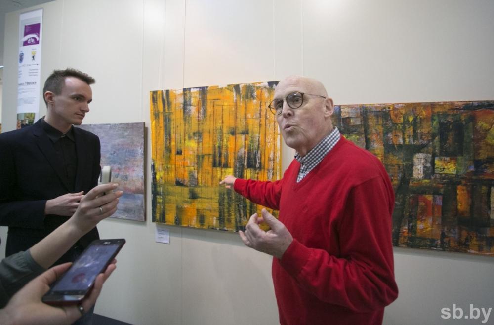 Exposition de Ulrich Uffrecht au bélarus