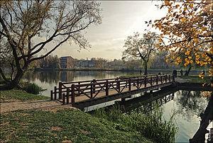 Parc de Loshitsa à Minsk