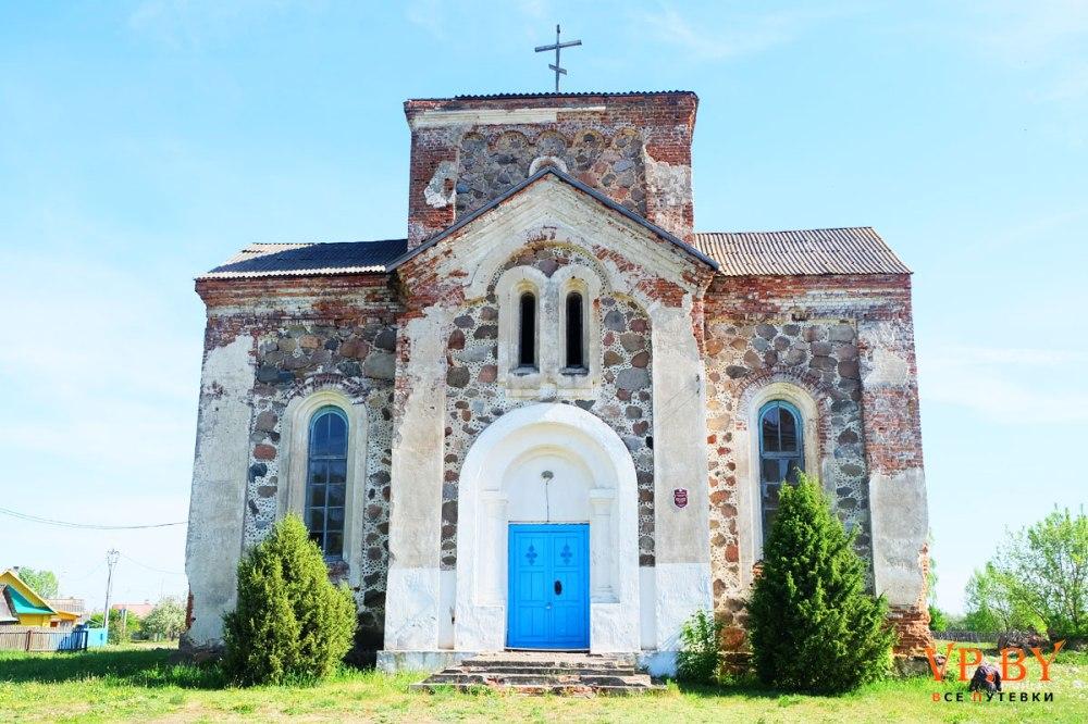 Église biélorusse ruines