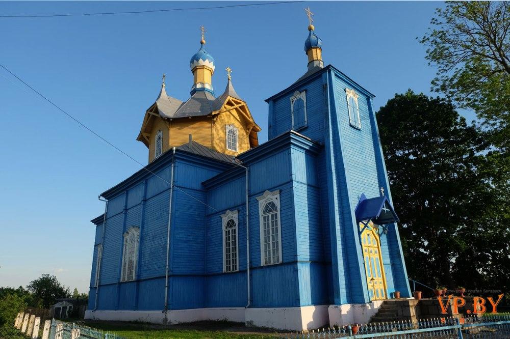 Église biélorusse en bois 1912