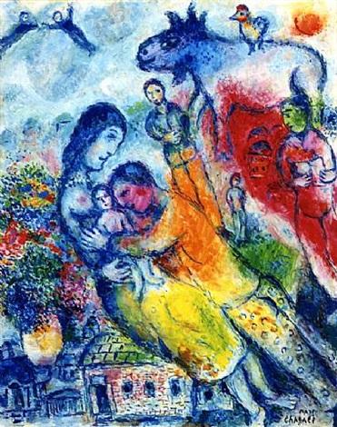 marc-chagall-la-joie-familaile
